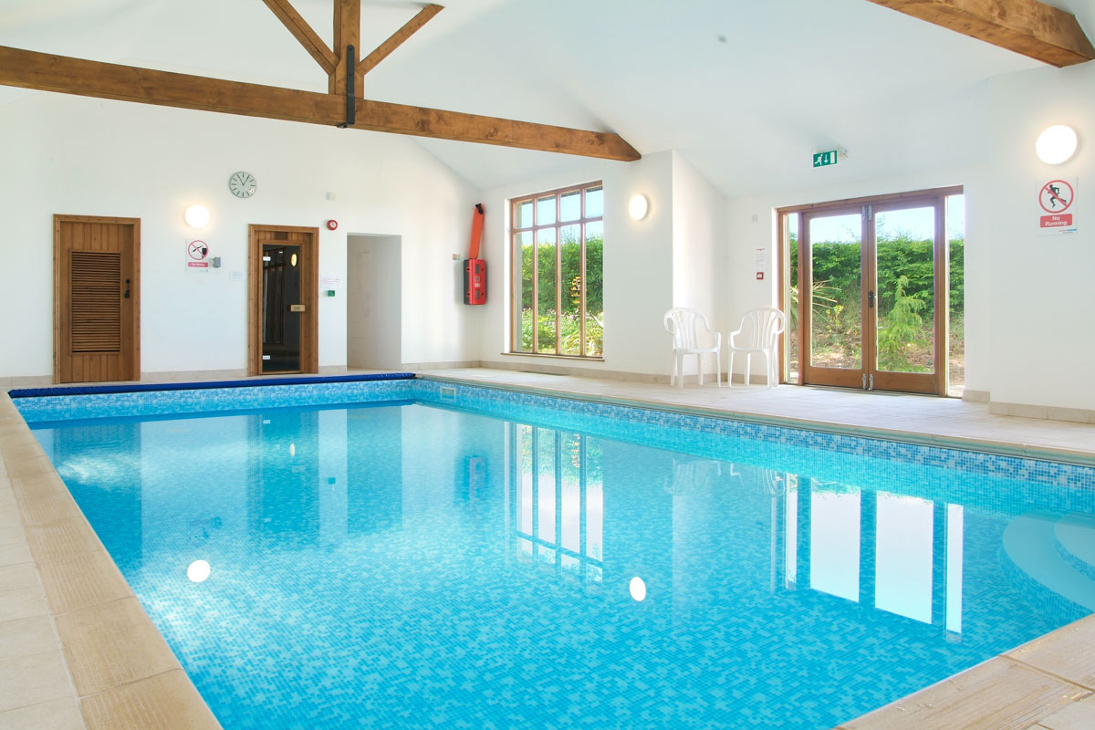 self catering holiday cottages devon indoor pool