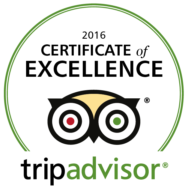 South Coombe wins 2015 certificate of excellence on trip advisor