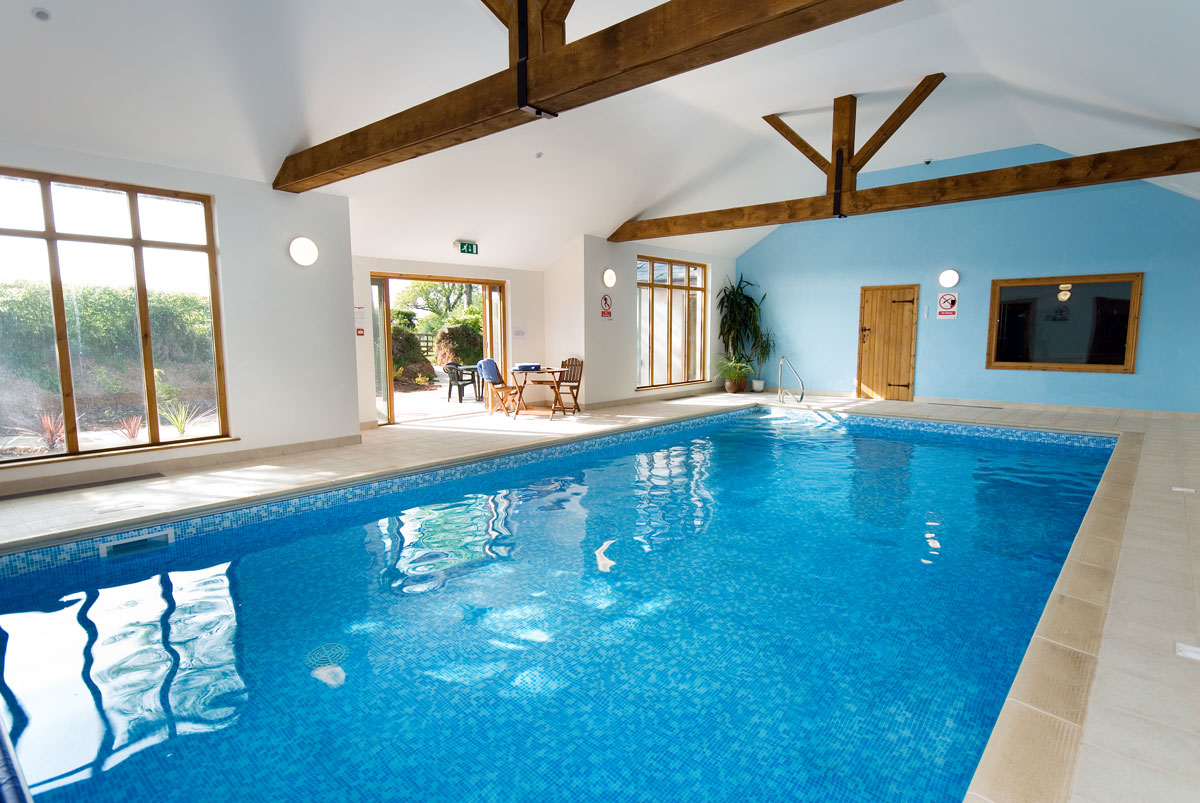 Indoor Pool at South Coombe
