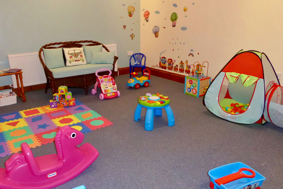 South Coombe Toddlers Tumble Room