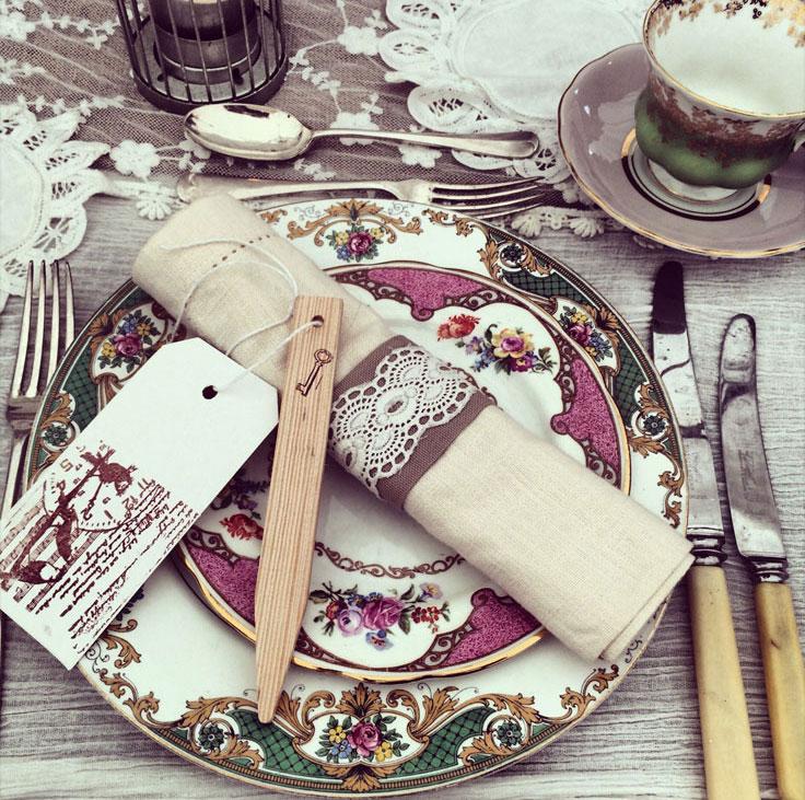 Wedding plate service