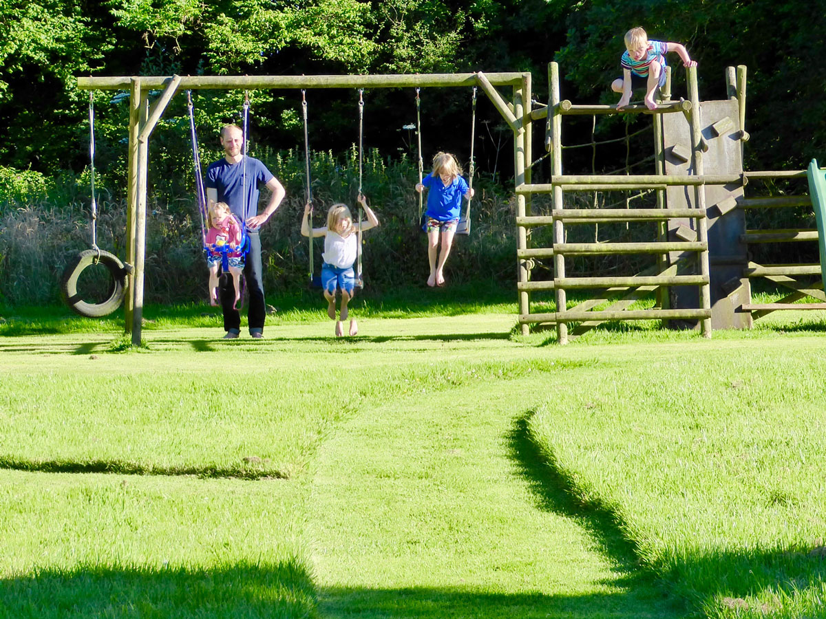South Coombe outdoor play area
